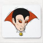 Vampiro de Drácula Alfombrilla De Ratón