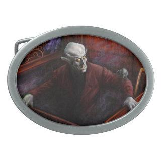 Vampiro de Drácula Nosferatu Hebillas Cinturon Ovales