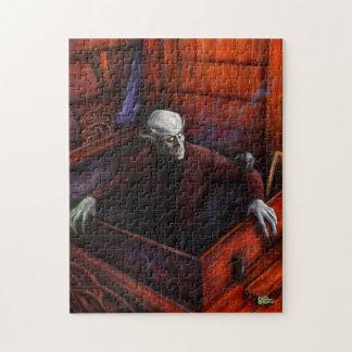 Vampiro de Drácula Nosferatu Rompecabezas