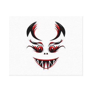 Vampiro de Halloween Impresión En Lona