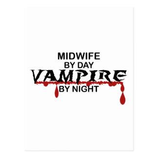 Vampiro de la partera por noche postales