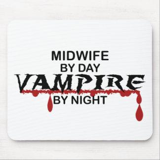 Vampiro de la partera por noche tapetes de ratones
