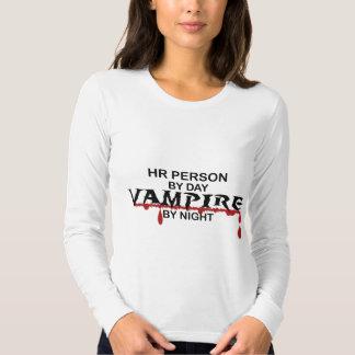 Vampiro de la persona de la hora por noche polera