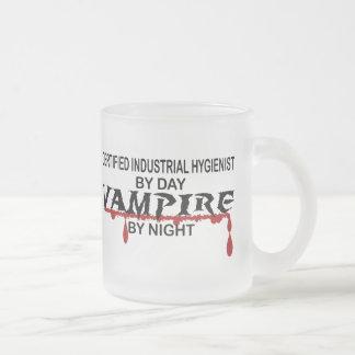 Vampiro del CERT Indust Hyg por noche Tazas