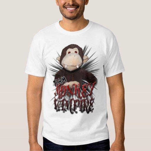 Vampiro del mono del equipo camisas