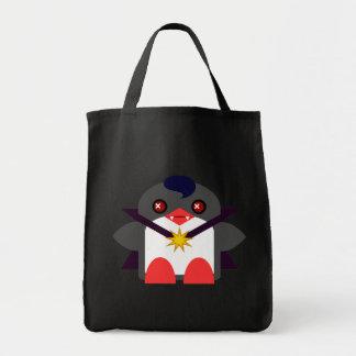 Vampiro del pingüino de Kawaii Bolsa Tela Para La Compra