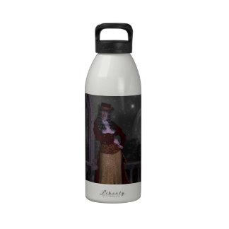 Vampiro del Victorian Botella De Agua