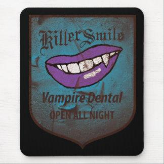Vampiro dental alfombrilla de ratones