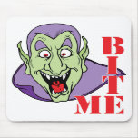 Vampiro divertido Mousepad de Halloween Alfombrilla De Raton