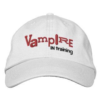 VAMPIRO en el entrenamiento del gorra del bordado  Gorras De Béisbol Bordadas
