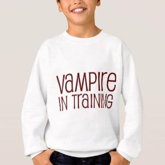 Vampiro en el entrenamiento sudadera