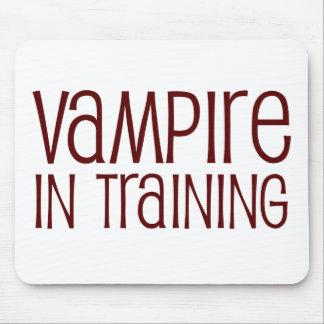 Vampiro en el entrenamiento tapetes de ratones