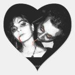 Vampiro exclusivo… colcomanias de corazon personalizadas
