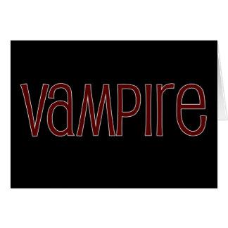 Vampiro Felicitacion