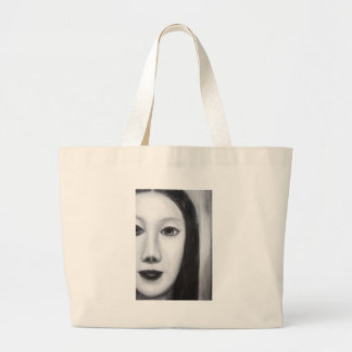 Vampiro femenino japonés (realismo surrealista) bolsa de mano