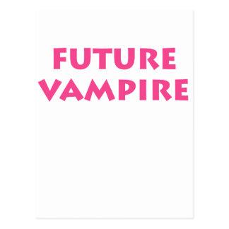 Vampiro futuro tarjetas postales
