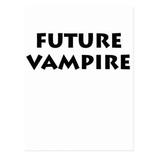 Vampiro futuro tarjeta postal