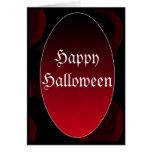 Vampiro gótico HappyHalloween Tarjetas