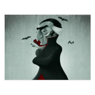 Vampiro Halloween Tarjetas Postales