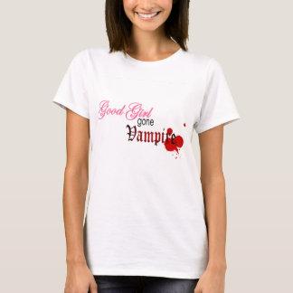 Vampiro ido buen chica playera