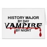 Vampiro importante de la historia por noche felicitacion