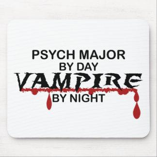Vampiro importante de Psych por noche Alfombrillas De Ratones