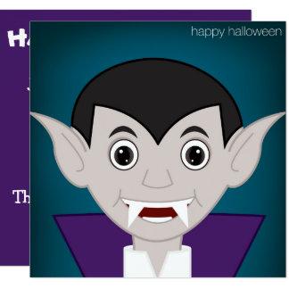 """Vampiro Invitación 5.25"""" X 5.25"""""""