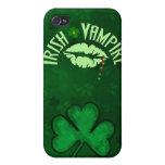 Vampiro irlandés iPhone 4 protectores