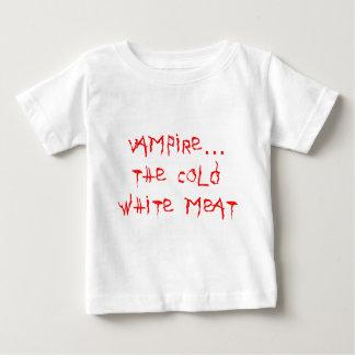 Vampiro la carne blanca fría playera