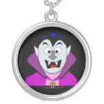 Vampiro lindo Hallowen del dibujo animado Pendientes