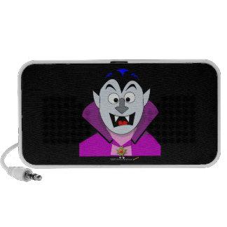 Vampiro lindo Hallowen del dibujo animado Mini Altavoz