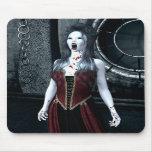 Vampiro macabro Mousepad de la sed Alfombrillas De Raton