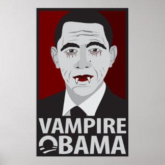 Vampiro Obama Posters