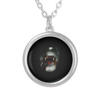 Vampiro sangriento colgante redondo