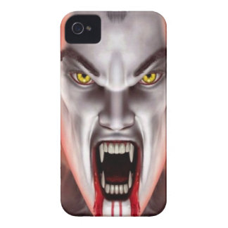 Vampiro sangriento iPhone 4 carcasa