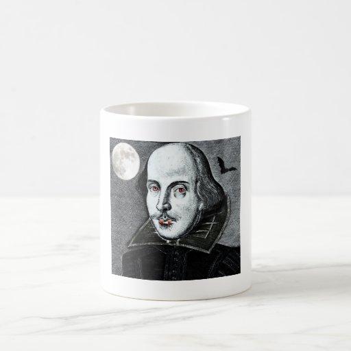 vampiro shakespeare taza de café