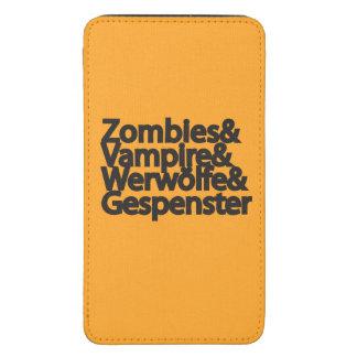 Vampiro Werwölfe Gespenster de los zombis Bolsillo Para Galaxy S5