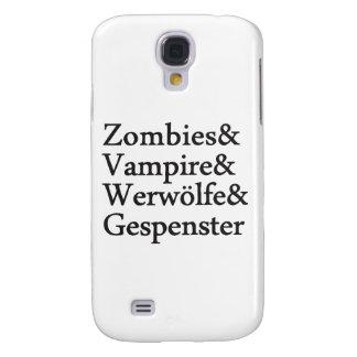 Vampiro Werwölfe Gespenster de los zombis Funda Para Galaxy S4