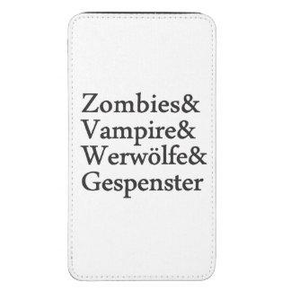 Vampiro Werwölfe Gespenster de los zombis Funda Para Galaxy S5