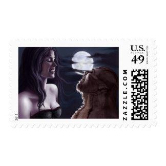 Vampiro y hombre lobo sellos