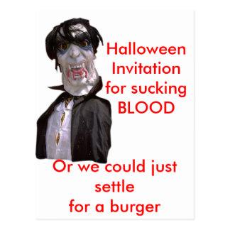 Vampiros de Halloween Twilite Tarjetas Postales
