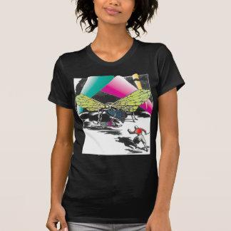 Vampiros de la camiseta de la ciencia ficción del playera