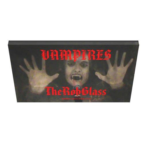 """Vampiros de TheRobGlass 48"""" x 32"""" pintura del vamp Impresiones En Lona"""