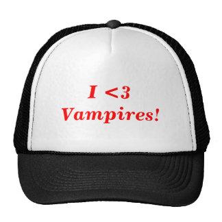 ¡Vampiros del corazón I! Gorro De Camionero