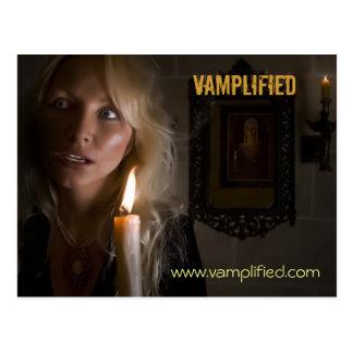 Vamplified, www.vamplified.com postcard