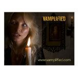 Vamplified, www.vamplified.com tarjeta postal