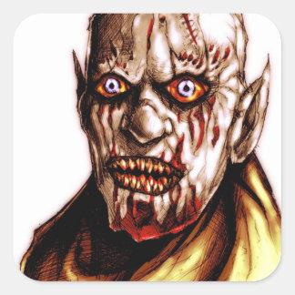 vamprBldebw1 Square Sticker