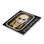 'Vamprye Shock' Ceramic Tile