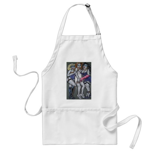 vamps adult apron