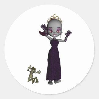 Vampyra Classic Round Sticker